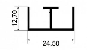 TRILHO SUPERIOR P/ VITRINE