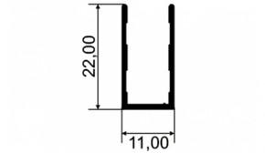 U 22X11 – FIXO DO BOX