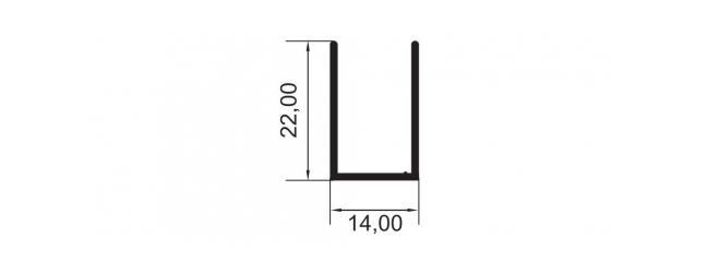 U 22X14 – PORTA DO BOX