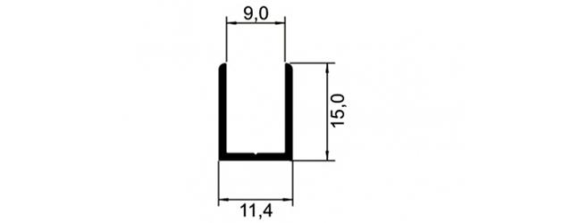 U 15X11